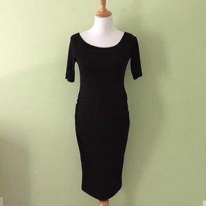 NWT ASOS maternity black dress